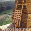 Holzratsche Fahrbar